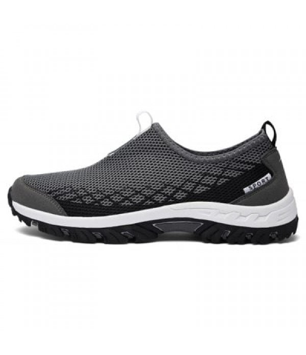 Breathable Mesh Upper Outdoor Sneakers f...