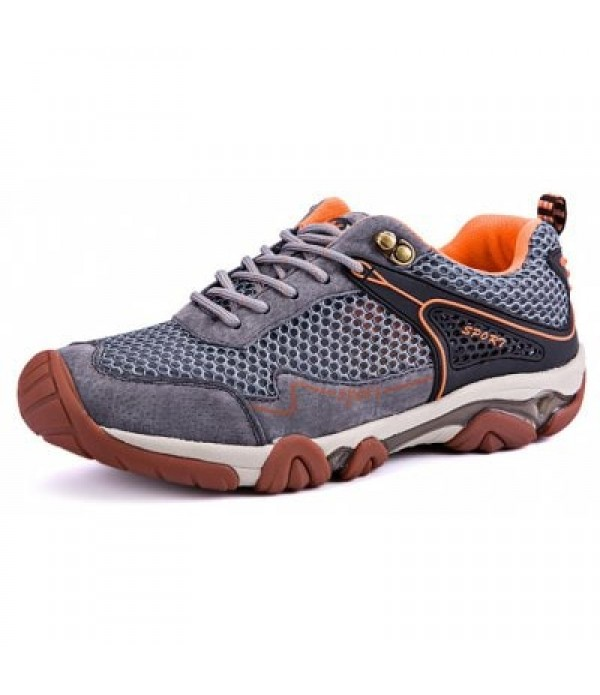 Mesh Patchwork Hiking Shoes