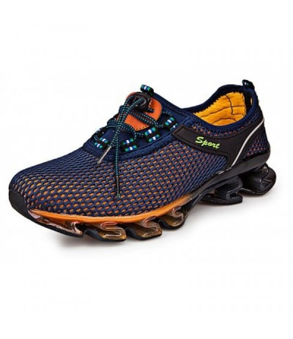 Sports Mesh Breathable Men Running Hiking Shoes