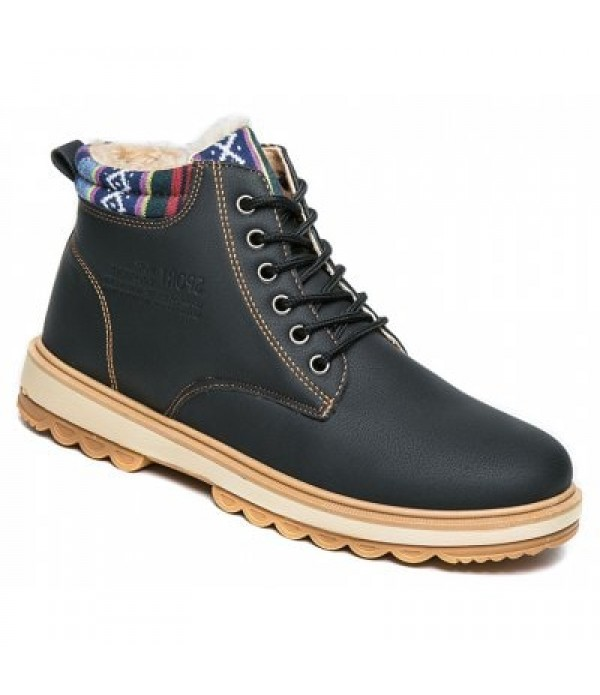 Fashionable  Leather Martin Boots for Me...