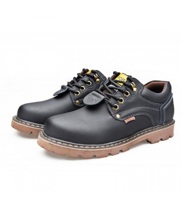 Chic British Style Leather Shoes for Men...