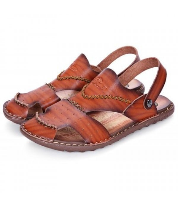 Durable Outdoor Hollow Out Sandals for Men