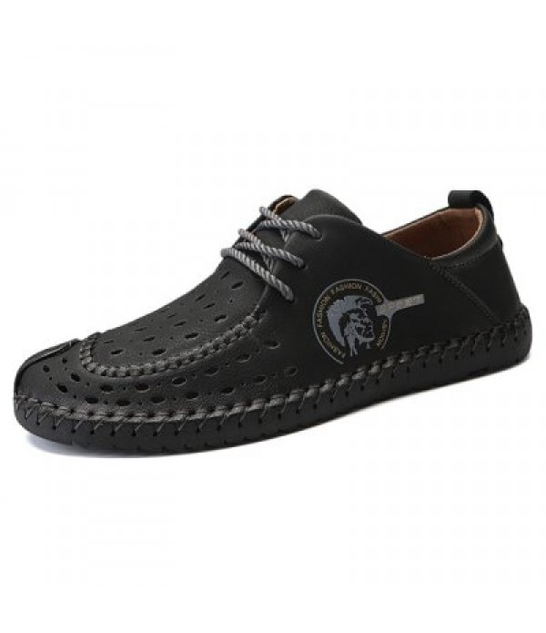 Men Trendy British Style Breathable Casual Shoes