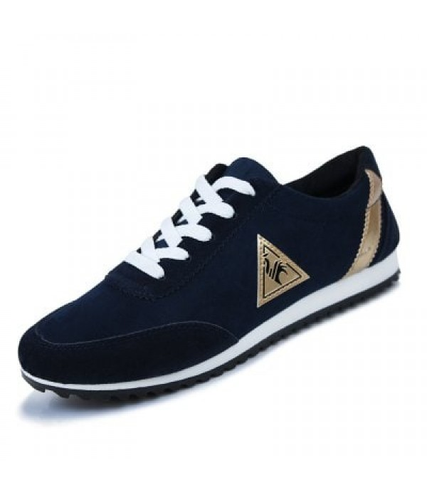 New Men's Casual Flats Shoes Running Sports Breathable Canvas Shoes