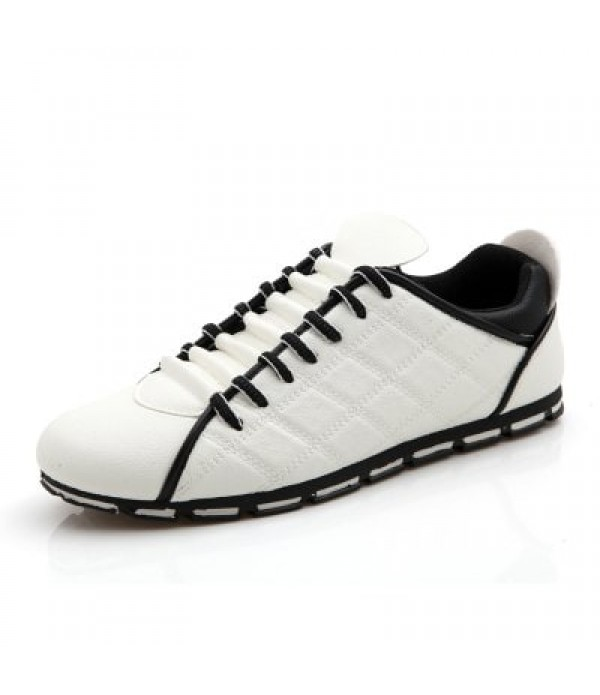 ZEACAVA Spring and Autumn Fashion Men's Three-color Rhombic Casual Shoes