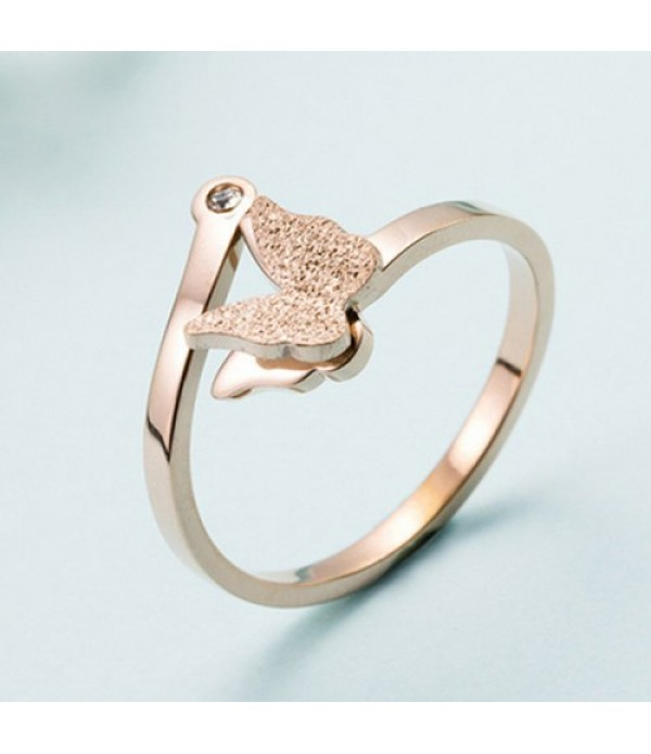 JZ201852 Ladies Ring Fashion Butterfly ...